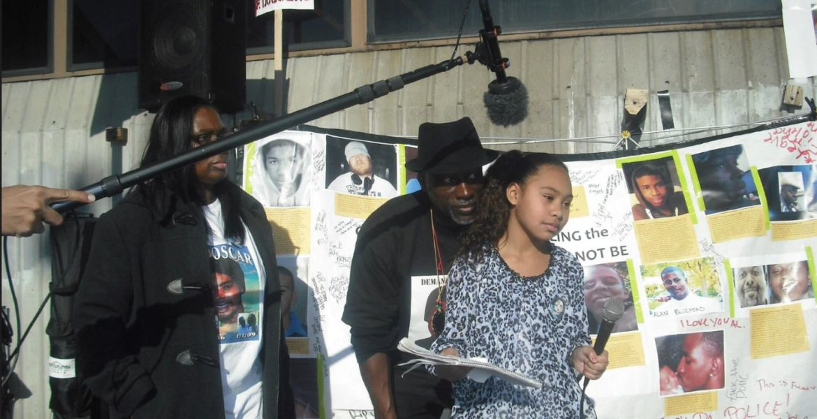Oscar Grant Daughter Now Tatiana Reads Letter t...